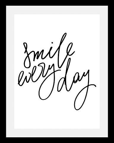 queence Paveikslas »Smile« in 3 dydžiai gerahm...