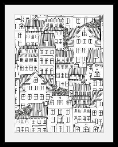Paveikslas »Häuser«