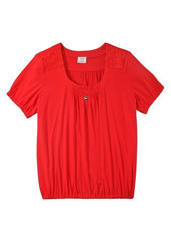 Marškinėliai Moterims su Herz-Applikat...