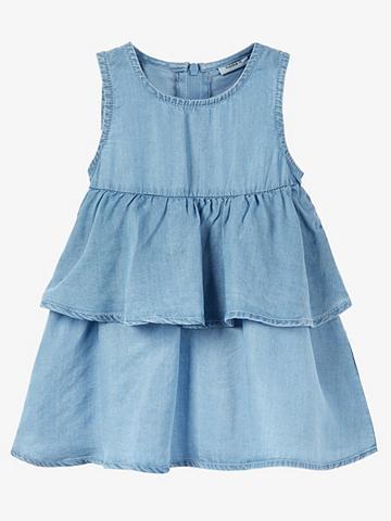 NAME IT Lengvas Web klostės džinsinė suknelė