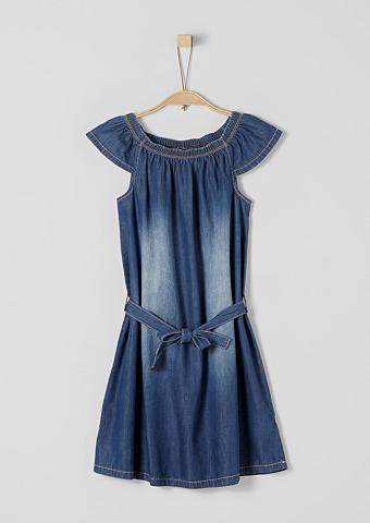 S.OLIVER RED LABEL JUNIOR Suknelė iš Light Džinsai dėl Mädchen