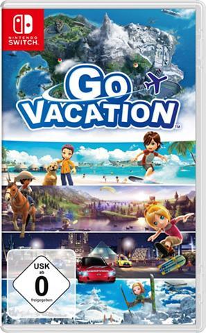 NINTENDO SWITCH Go Vacation Nintendo Šakotuvas