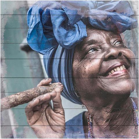 HOME AFFAIRE Paveikslas »Havanna Lady su Kopftuch« ...