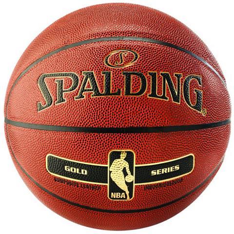 SPALDING NBA Gold Indoor/Outdoor Basketball