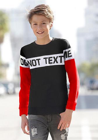 BUFFALO Sportinio stiliaus megztinis »DO NOT T...