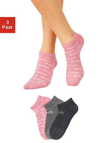 BENCH. Kojinės sportbačiams (3 poros) im madi...