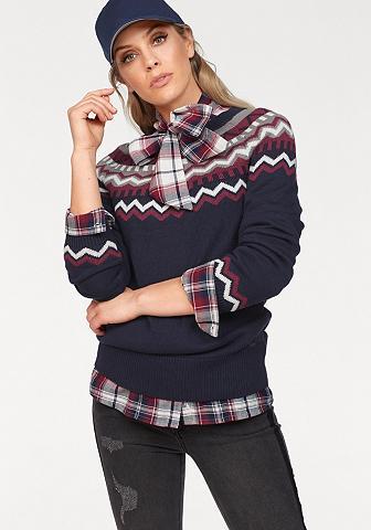 ARIZONA Raštuotas megztinis »im Norweger Style...
