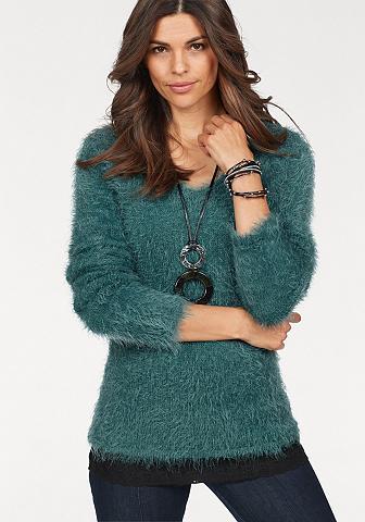 BOYSEN'S Megztinis su V formos iškirpte