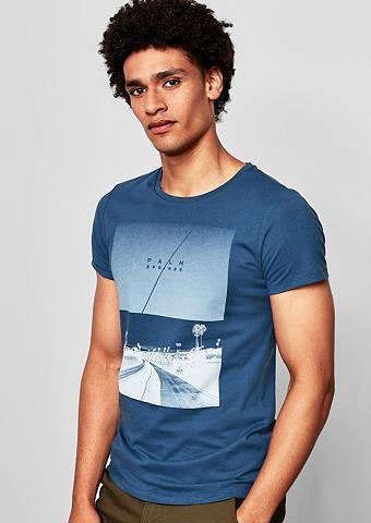 Q/S DESIGNED BY Marškinėliai su Foto-Print