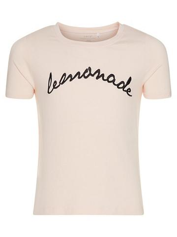 NAME IT Siuvinėtas šortai forma Marškinėliai