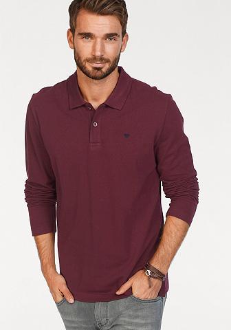 TOM TAILOR Polo marškinėliai ilgomis rankovėmis