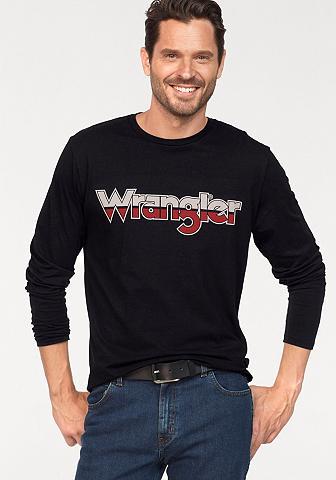 WRANGLER Marškinėliai ilgomis rankovėmis