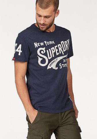 SUPERDRY Marškinėliai »34TH«