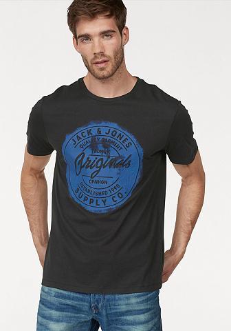 JACK & JONES Jack & Jones Marškinėliai »STOOD Maršk...