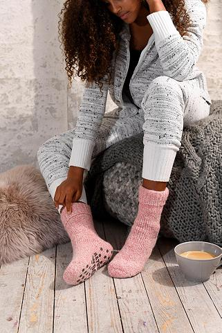 Sympatico ABS-Socken (1-Paar) iš megztas su ruts...