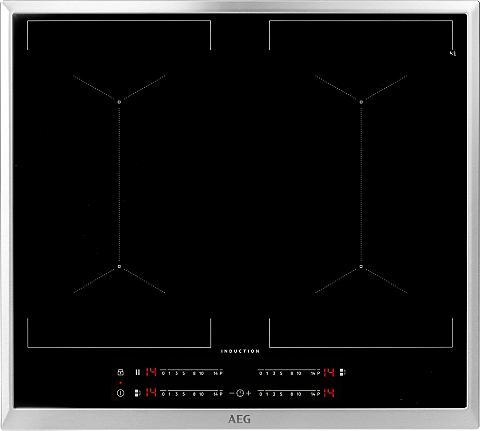 AEG Flex-Induktions-Kochfeld IKE64450XB su...