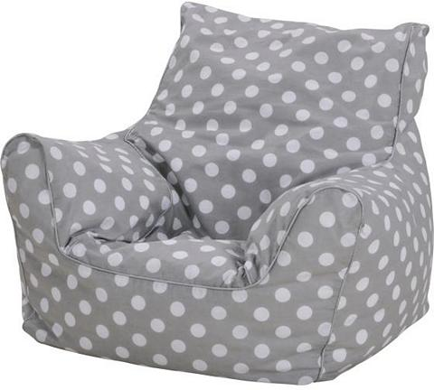 KNORR TOYS Kindersitzsack »Dots grey«