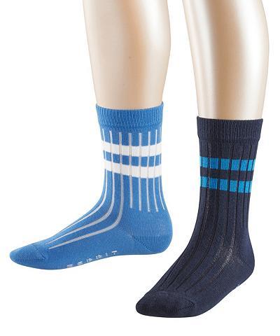 ESPRIT Kojinės Rib 2-Pack (2 poros)