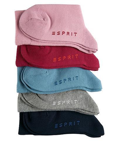 ESPRIT Kojinės Solid derinys 5er Pack (5 poro...