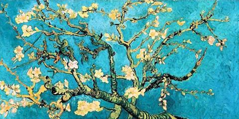HOME AFFAIRE Paveikslas »Mandorlo in fiore« gėlės