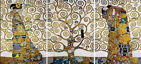 HOME AFFAIRE Paveikslas »KLIMT - Der Lebensbaum« (S...