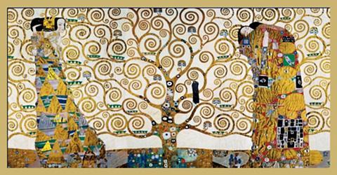 HOME AFFAIRE Paveikslas »KLIMT - Der Lebensbaum«