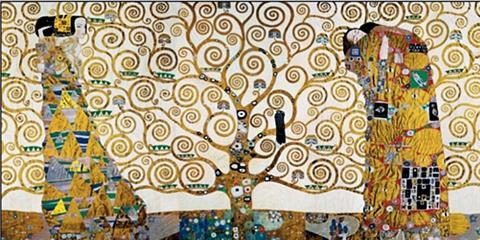 Home affaire Deco-Panel »KLIMT - Der Lebensbaum«