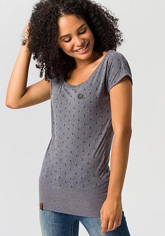 NAKETANO Marškinėliai »Wolle Ankerdizzel«