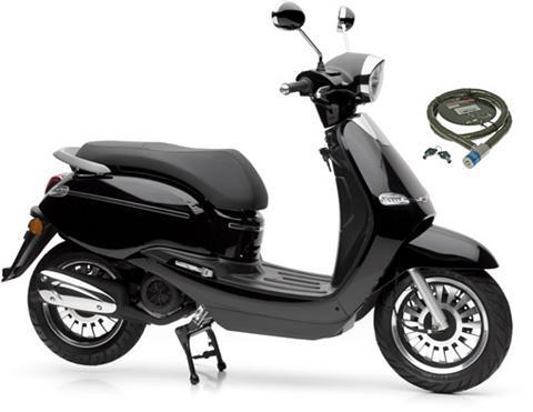 NOVA MOTORS Motoroleris »F10« 49 ccm 45 km/h Euro ...