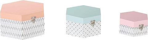 HOME AFFAIRE Dėžučių rinkinys im Scandic stilius (3...