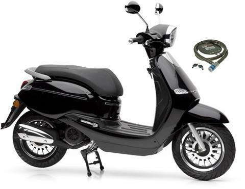 NOVA MOTORS Motoroleris »F10« 125 ccm 80 km/h Euro...