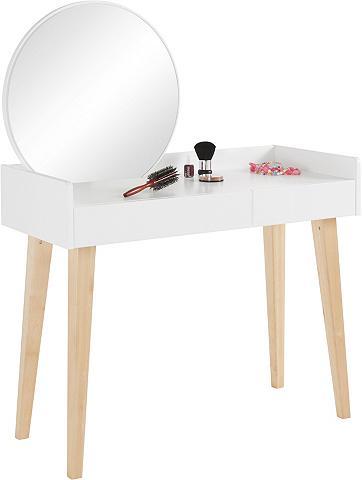ANDAS Kosmetinis staliukas su veidrodis plot...