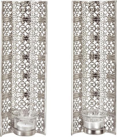 HOME AFFAIRE Sieninė žvakidė (2-tlg. rinkinys)