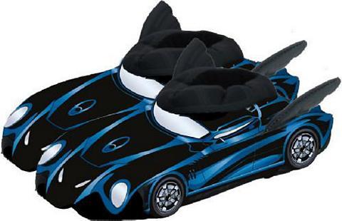 UNITED LABELS Naminės šlepetės »Batman Batmobil Größ...