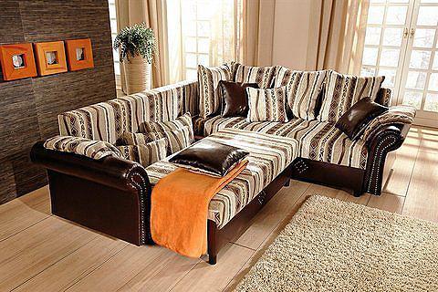 Kampinė sofa »Norra« patogi su spyruok...
