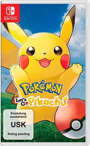 NINTENDO SWITCH Pokémon: Let's Go Pikachu! Nintendo Ša...