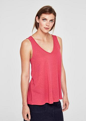 S.OLIVER RED LABEL Marškinėliai be rankovių su Spitzen-In...