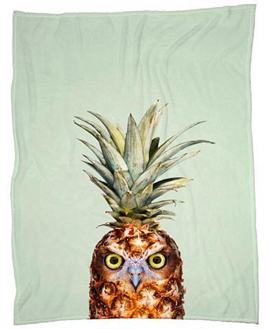 Užklotas »Pineapple Owl« Juniqe