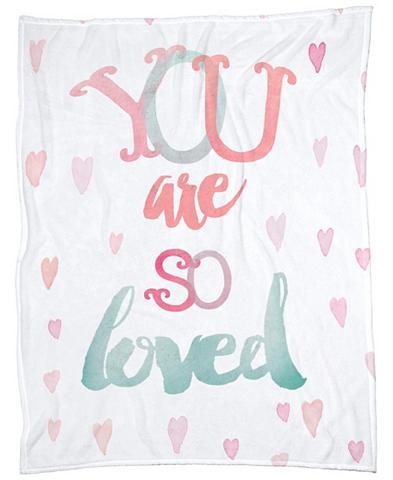 Užklotas »You Are So Loved« Juniqe