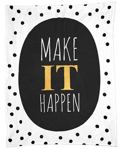 Užklotas »Make It Happen« Juniqe