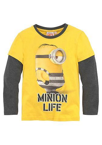 MINIONS 2 in 1 ilgomis rankovėmis marškinėliai...