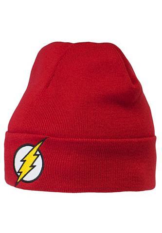 LOGOSHIRT Megzta kepurė su Superhelden-Logo