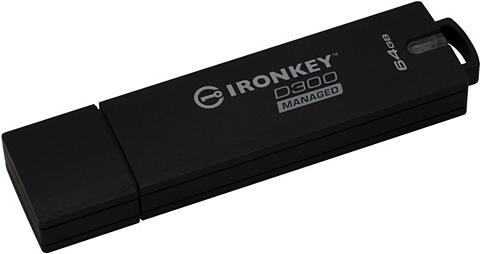 KINGSTON USB laikmena »IronKey D300 64GB Manage...