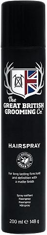 THE GREAT BRITISH GROOMING CO. »Hair Spray« Haarspray