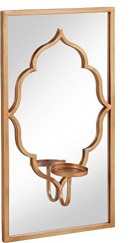 HOME AFFAIRE Sieninė žvakidė »Orient« su veidrodis