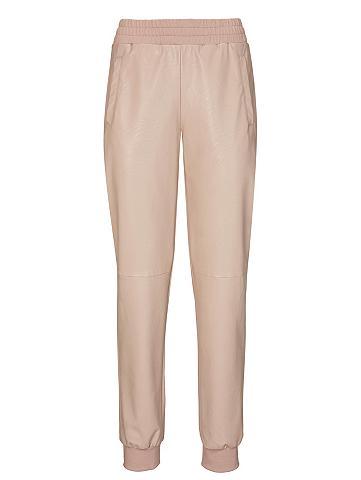 heine CASUAL Dirbtinės odos kelnės su kišenės