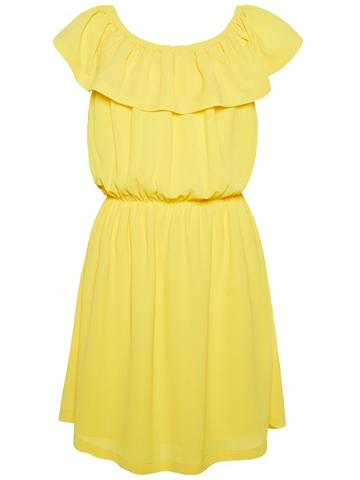 NAME IT Vienspalvis apnuoginanti pečius suknel...
