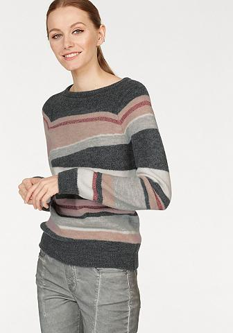 LAURA SCOTT Dryžuotas megztinis