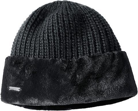 SEEBERGER Kepurė in Strick-Qualität