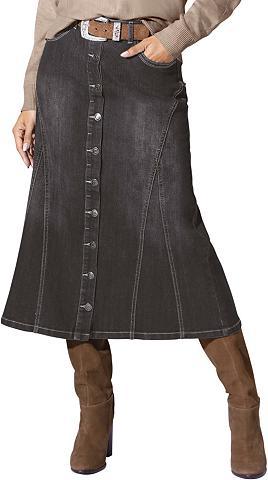 CLASSIC INSPIRATIONEN Džinsinis sijonas in lengvas A-Form